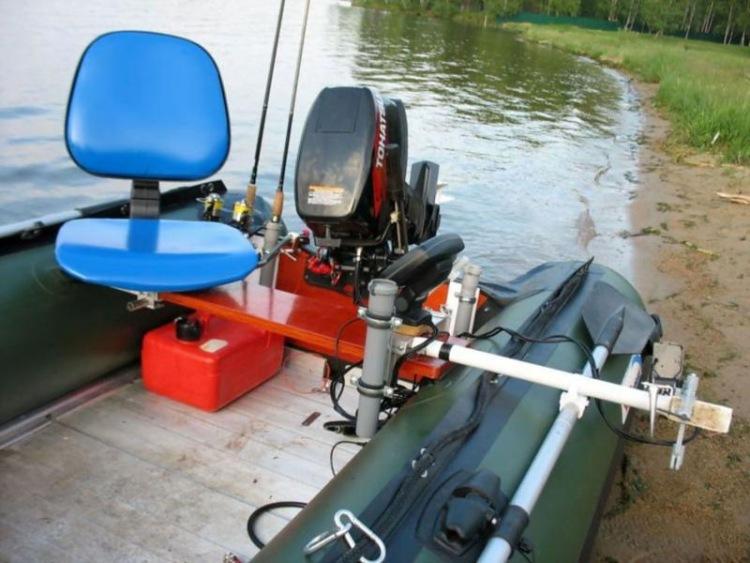 оборудование к лодкам в украине
