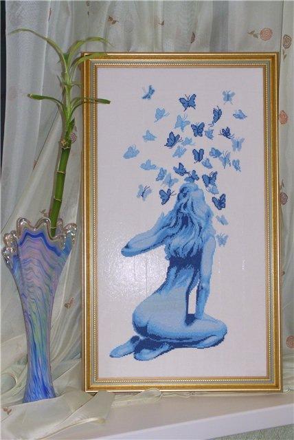 Танец бабочек. Вышивка. Обсуждение на LiveInternet - Российский