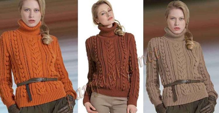Сайт по вязанию свитера