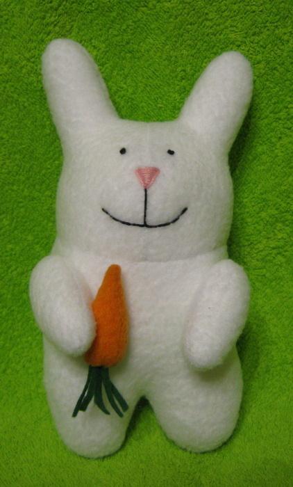 Игрушка кролик своими руками