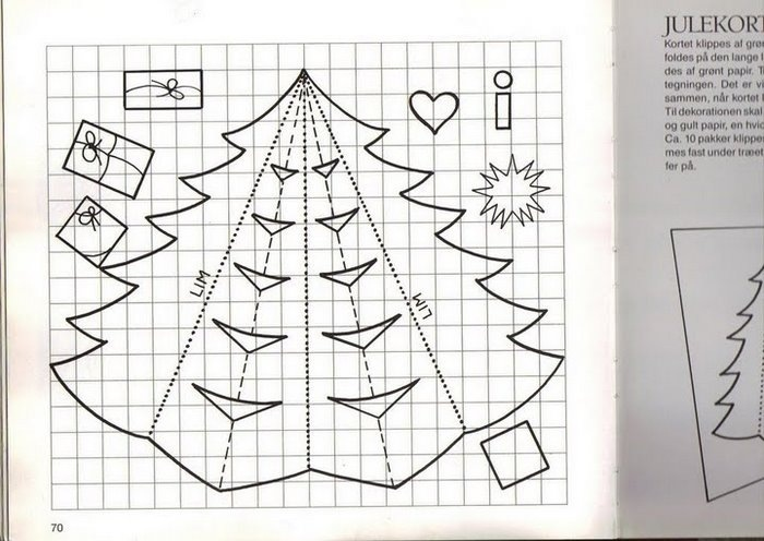 Объёмные открытки своими руками схемы для детей