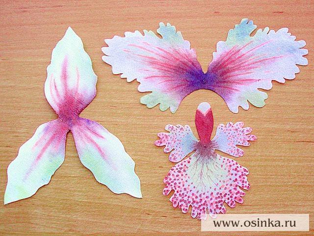 Как сделать цветок орхидеи своими руками