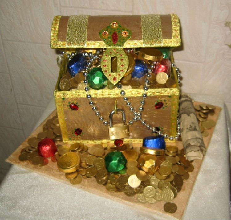 Сокровища пиратов подарки 24