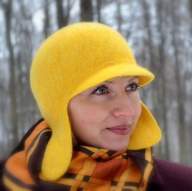 Валяние шляпы шапки