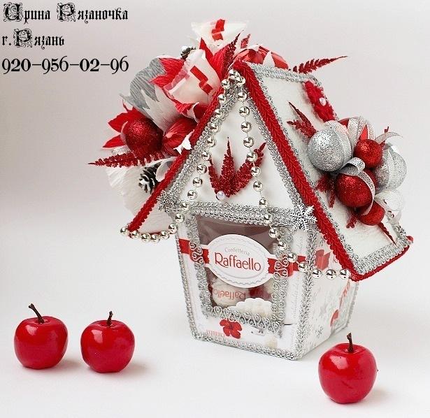 Украсить своими руками коробку конфет к новому году - Каменный Пояс