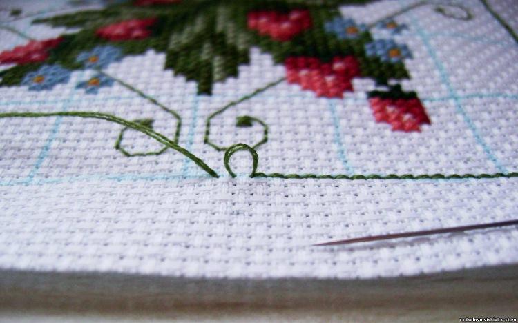 Готовая вышивка крестом как стирать 99