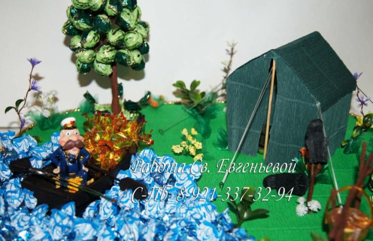 Подарок рыбаку на день рождения своими руками мастер класс 49