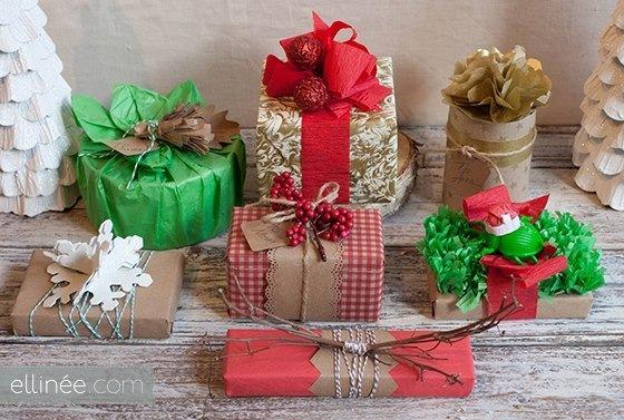 Новое в оформлении подарков