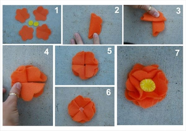 Как правильно сделать цветок