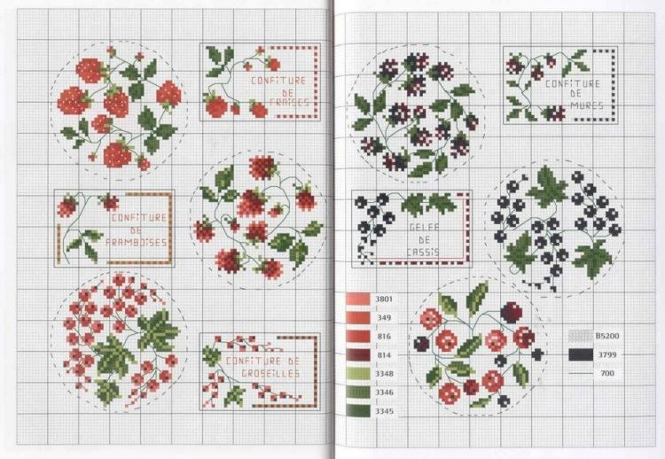 жуткой истории вышивка ягоды крестиком маленькие декабре легко найдёте