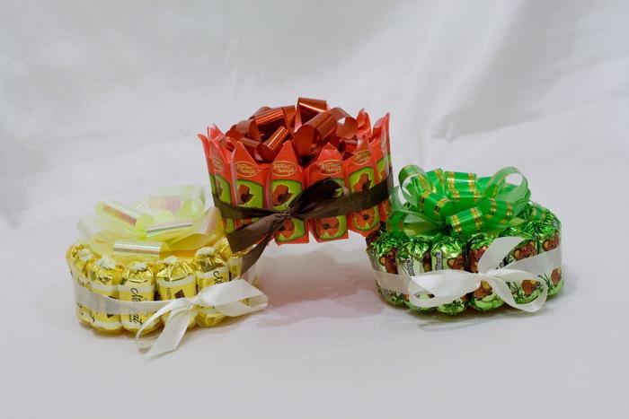 Сувениры своими руками конфеты