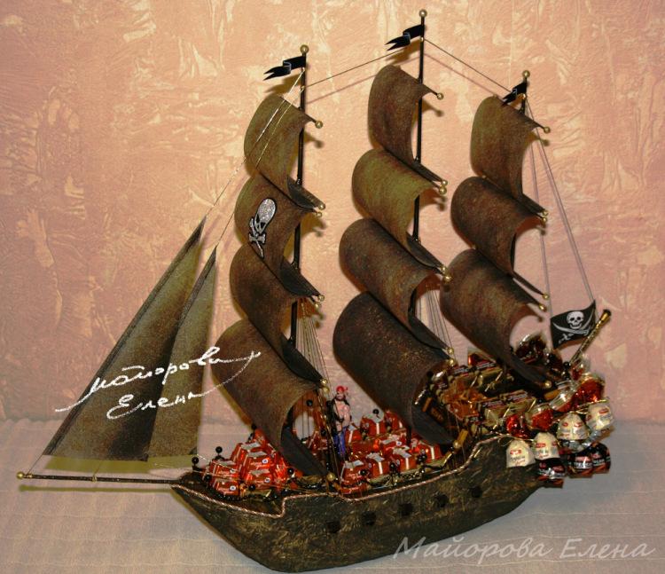 "Gallery.ru / Фото #9 - Букеты из конфет в Муроме ""Корабли"" - may-present"