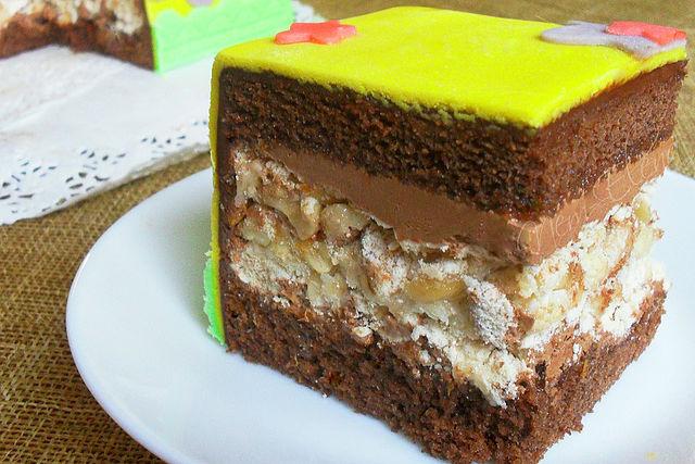 Торты в разрезе рецепты