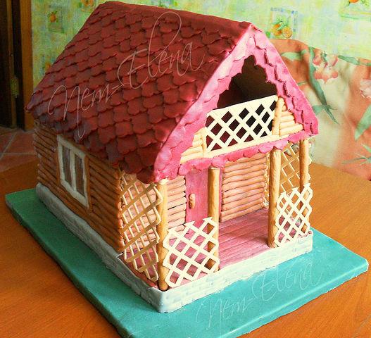 Торт дом как его сделать 416