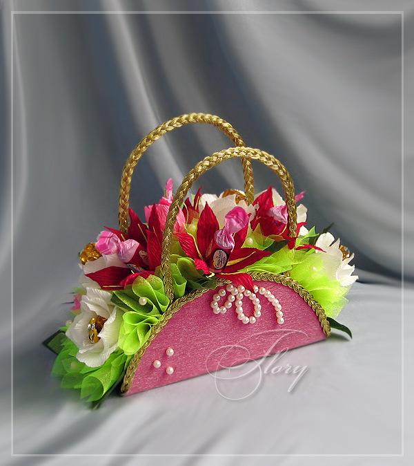 Мотивы вязания для сумок