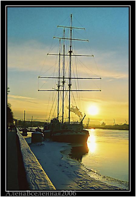 лодка летучий голландец фото