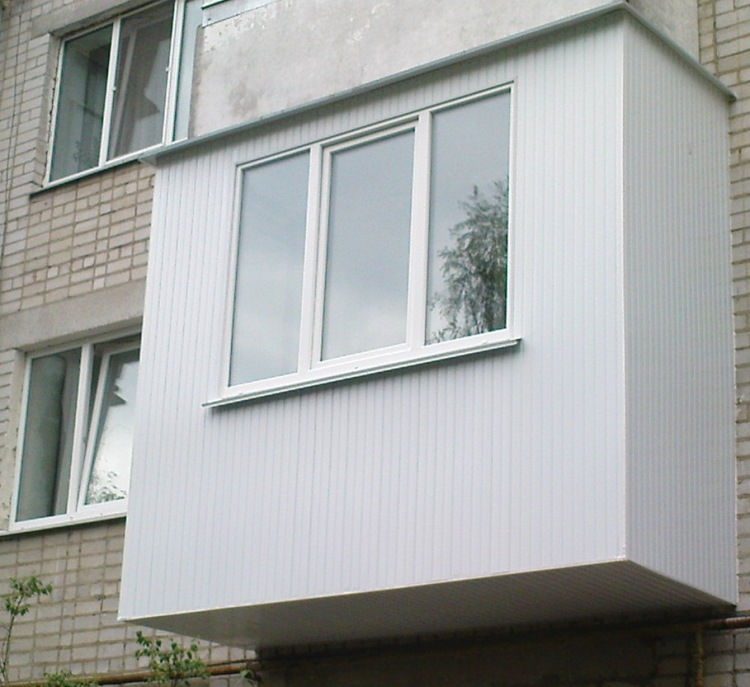Ответы@mail.ru: протекает козырёк балкона.