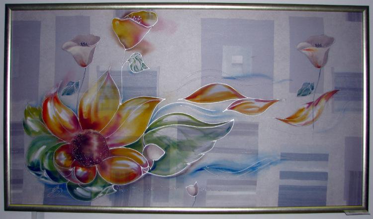 Картины из батика фото