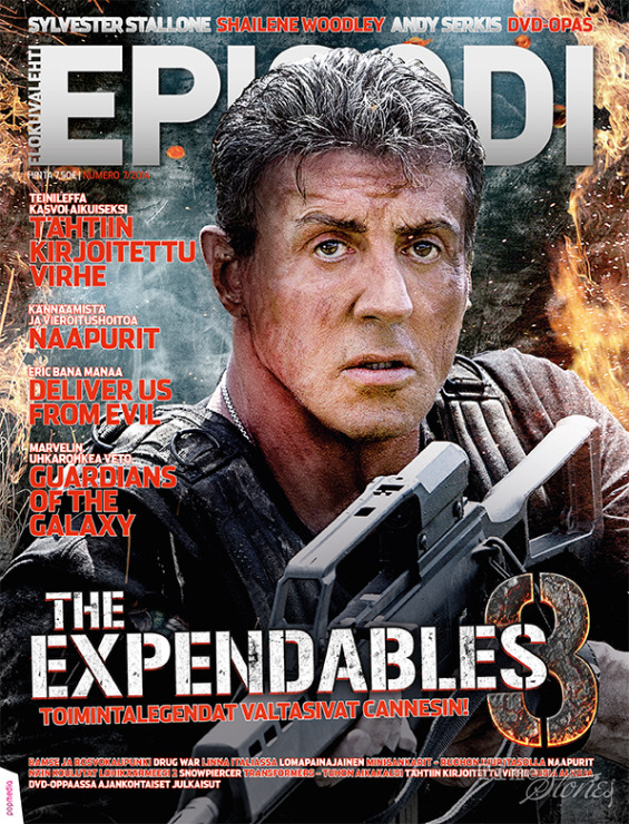 The Expendables 3 2014 WS R0 Custom DVD  AllCDCovers