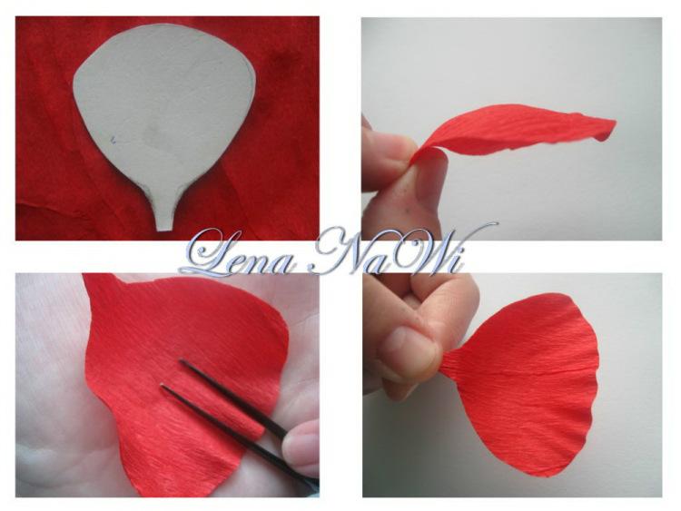 Сделать цветы маки из бумаги своими руками - Mosstroyservice
