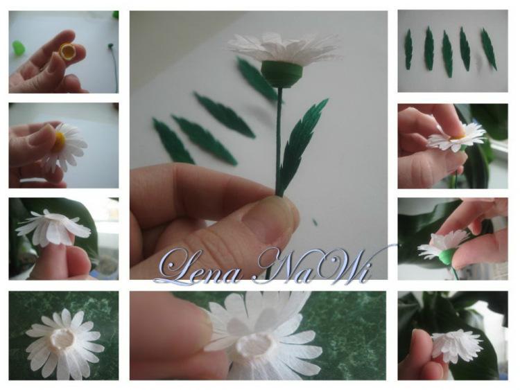 Как сделать цветы фото