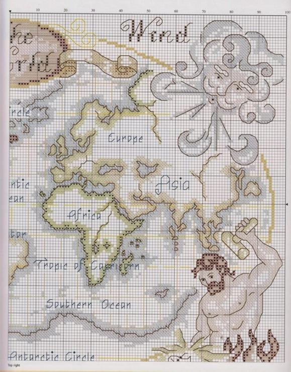 Gallery.ru / фото #11 - карты мира - zelenoglazka95.