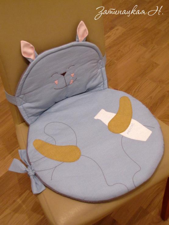 Шьем подушку на стул