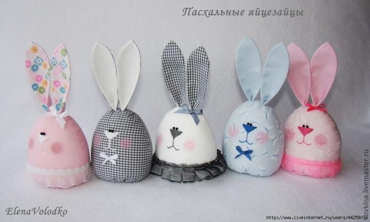Gallery.ru / Фото #27 - Шьем пасхальные яйца-веселые зайцы. Идеи и мастер-класс. - zabelo4ka