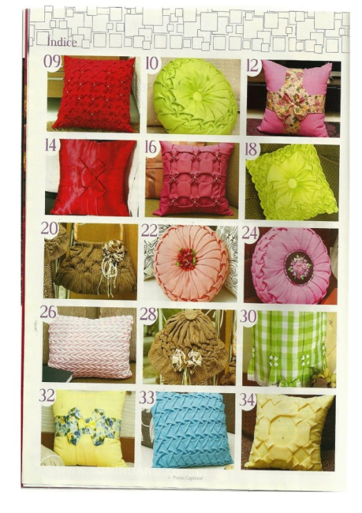 Декоративные подушки по схеме своими руками