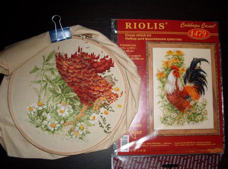 Вышивка риолис 1480 схема 95