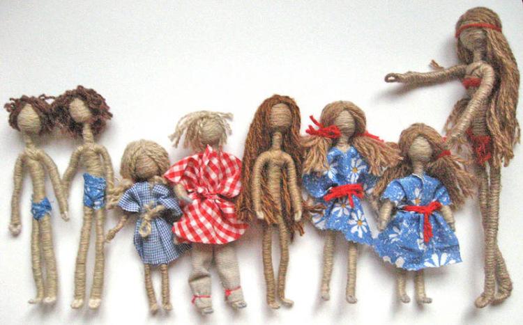 Куклы своими руками из проволоки