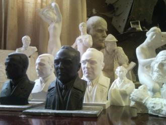 Скульптор Денис Сусликов - Москва